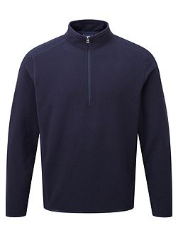 Sixa mens TCZ 100 fleece zip neck