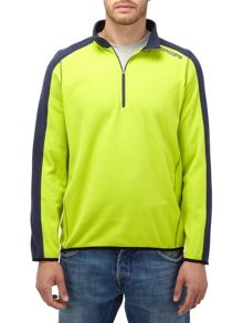 Ally mens TCZ fleece zip neck