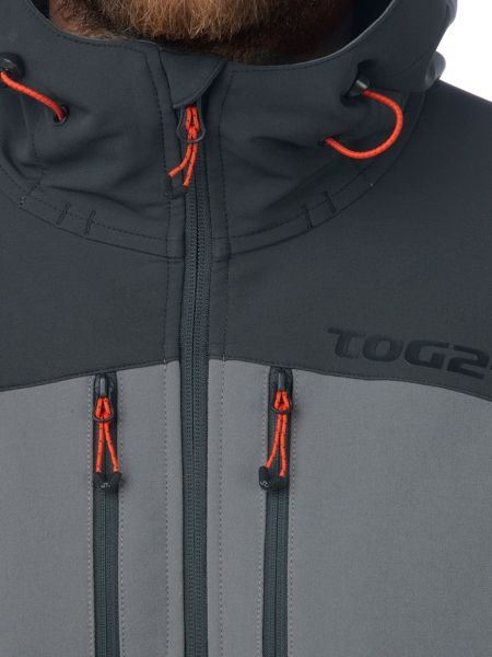 Tog 24 Star Mens TCZ Softshell Hooded Jacket