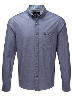 Wharfe Mens Long Sleeve Shirt