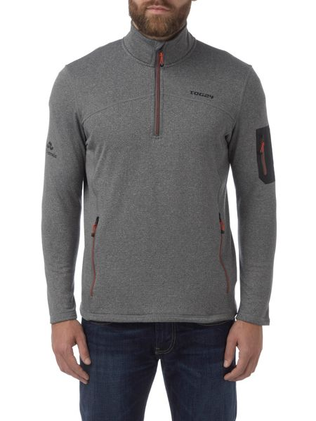 Tog 24 Elbert Mens TCZ Stretch Zip Neck