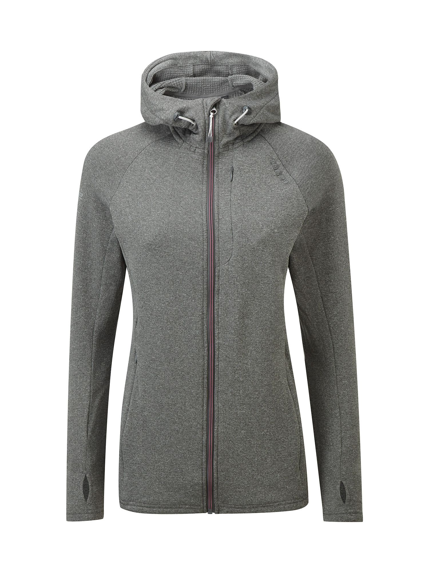 Tog 24 Cerys Womens TCZ Stretch Hooded Jacket, Grey