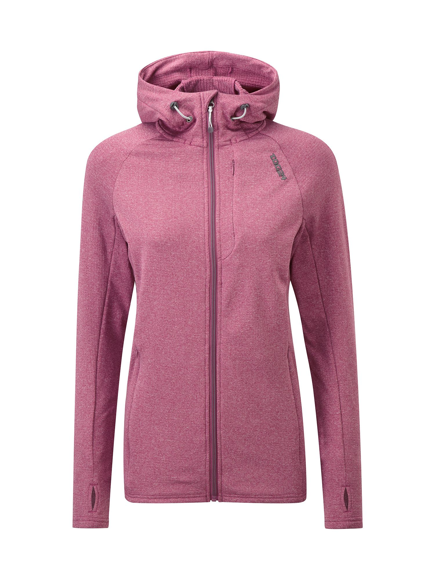 Tog 24 Cerys Womens TCZ Stretch Hooded Jacket, Pink