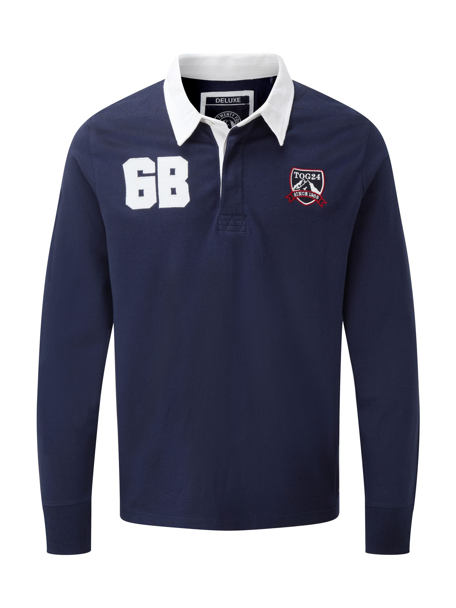 Mens Tog 24 Thierry Mens Rugby Shirt Midnight Blue