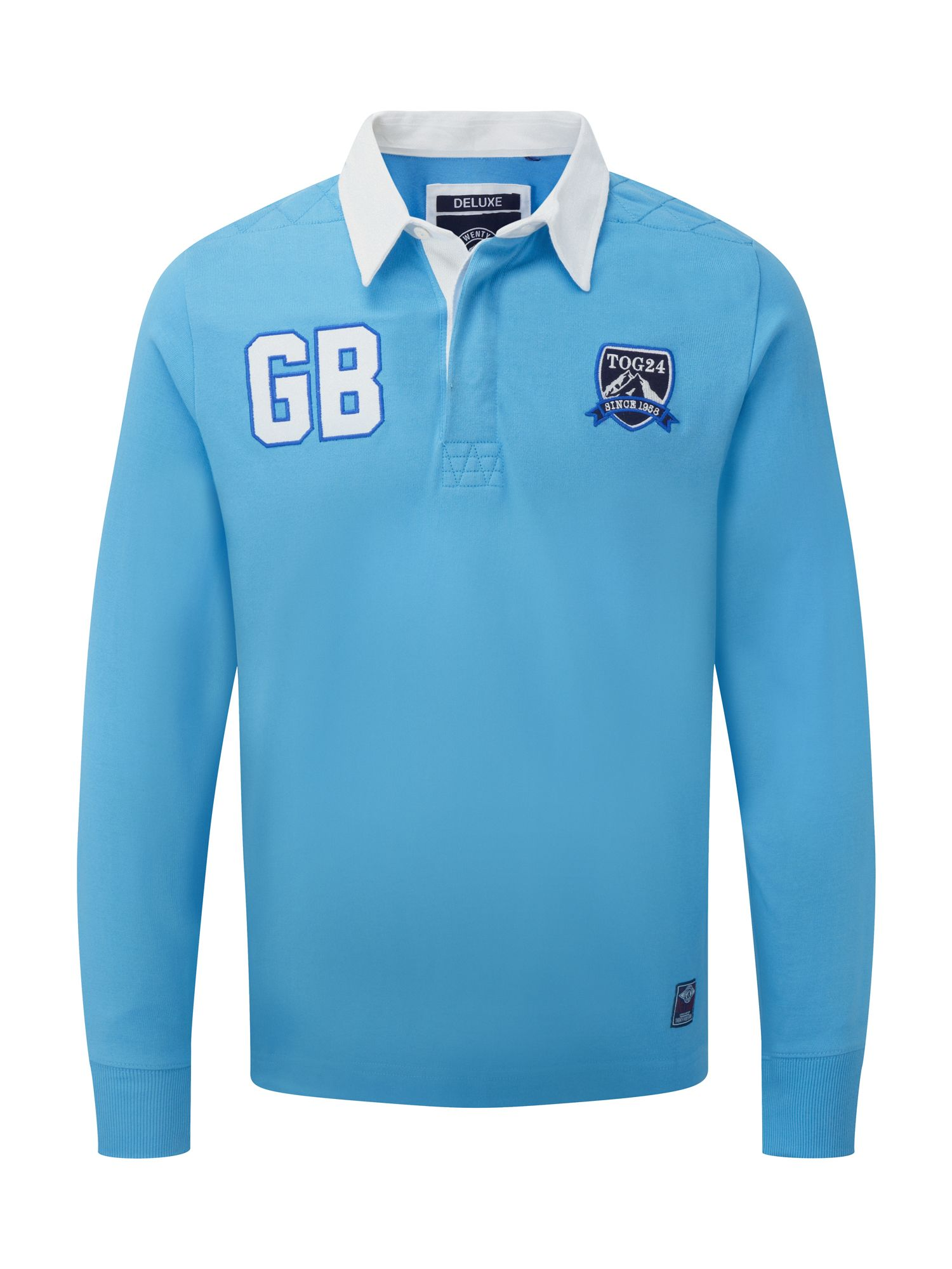 Mens Tog 24 Thierry Mens Rugby Shirt Blue