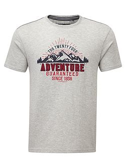 Kilter Mens T-Shirt Adventure Print