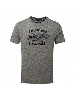 Kilter Mens T-Shirt Explore Print