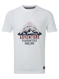 Galaxy Mens T-Shirt Adventure Print