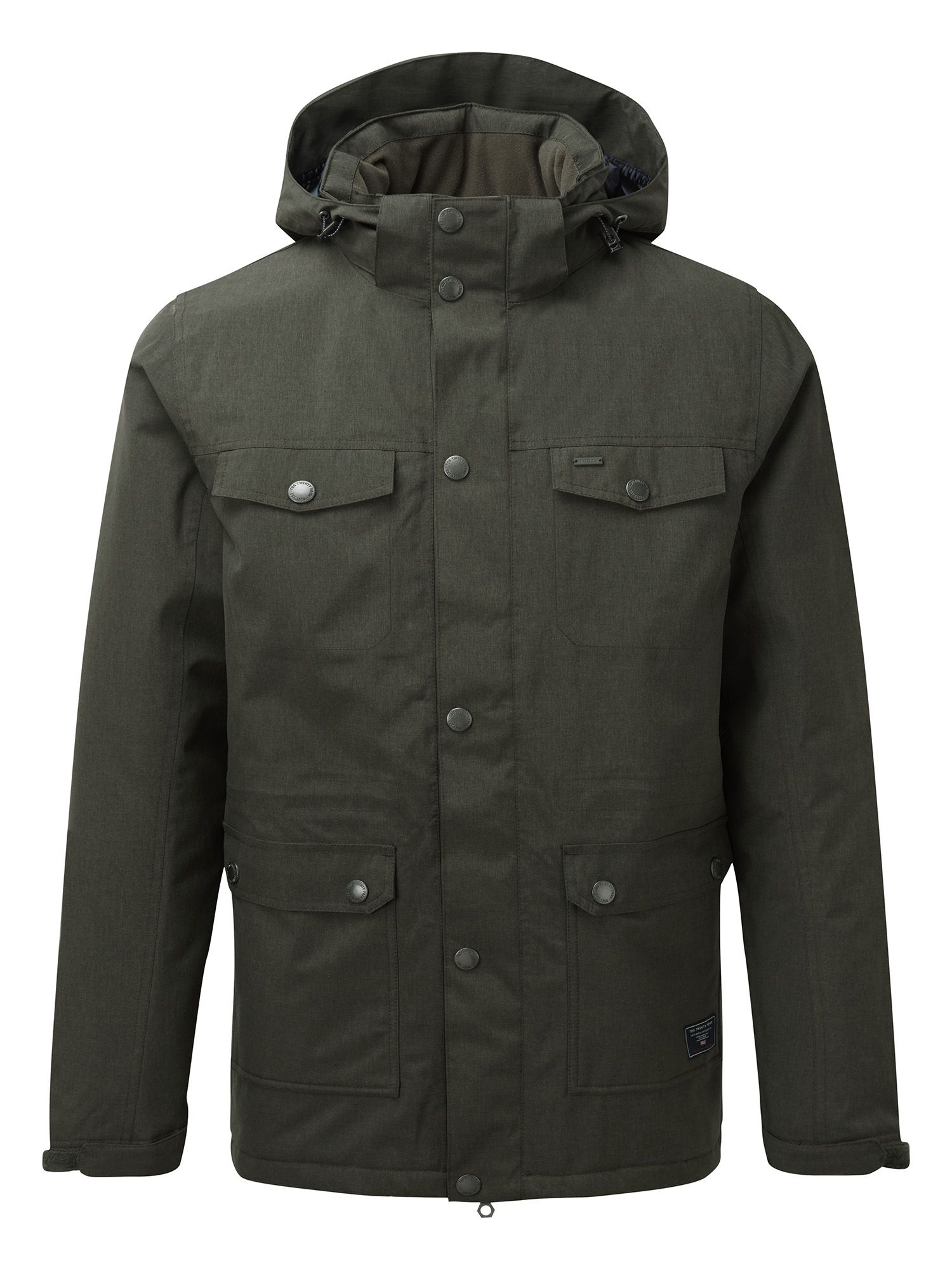 Mens Tog 24 Bexley Mens Milatex Parka Jacket Green