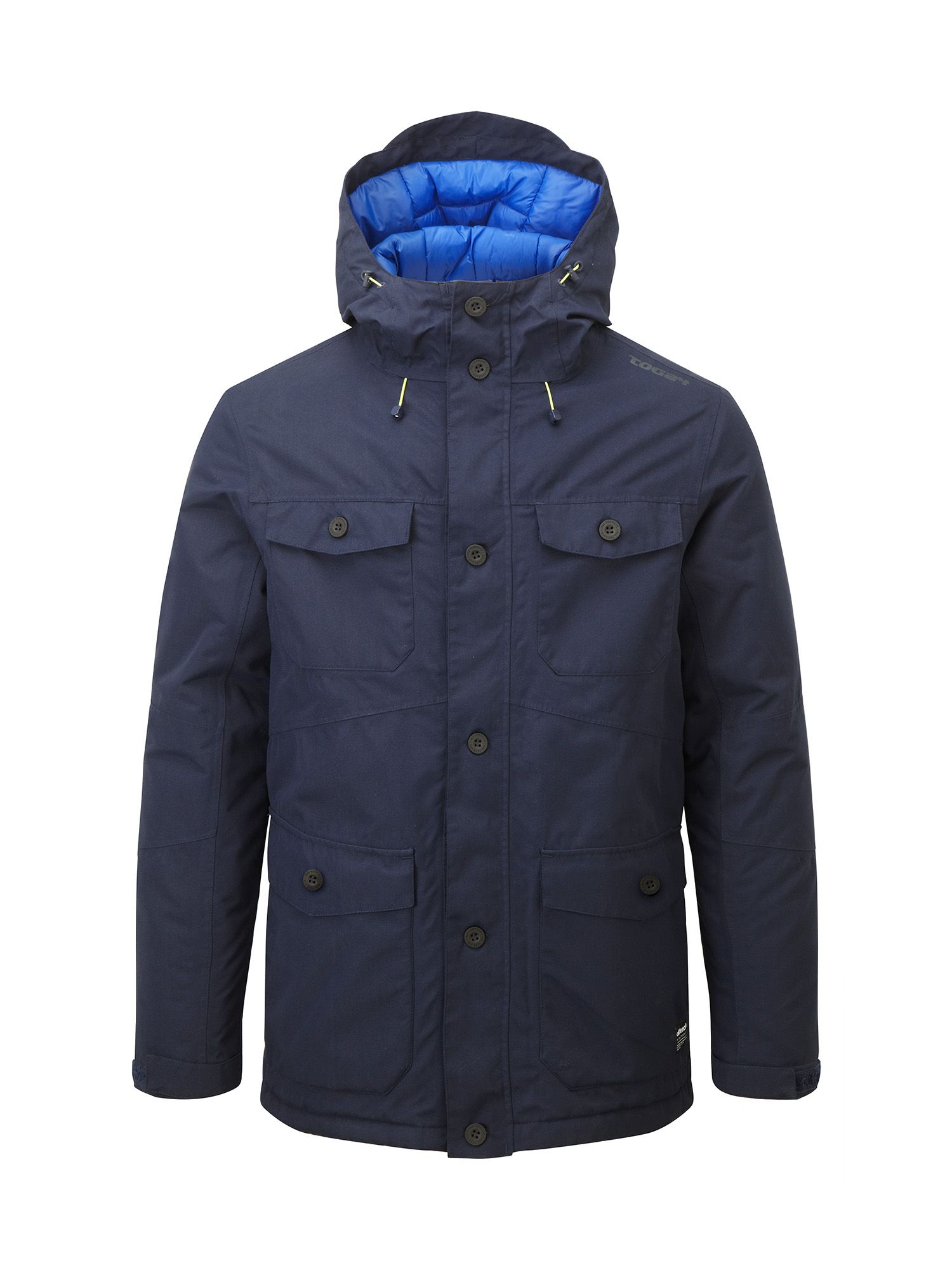 Mens Tog 24 Drift Mens Milatex 3in1 Parka Jacket Navy