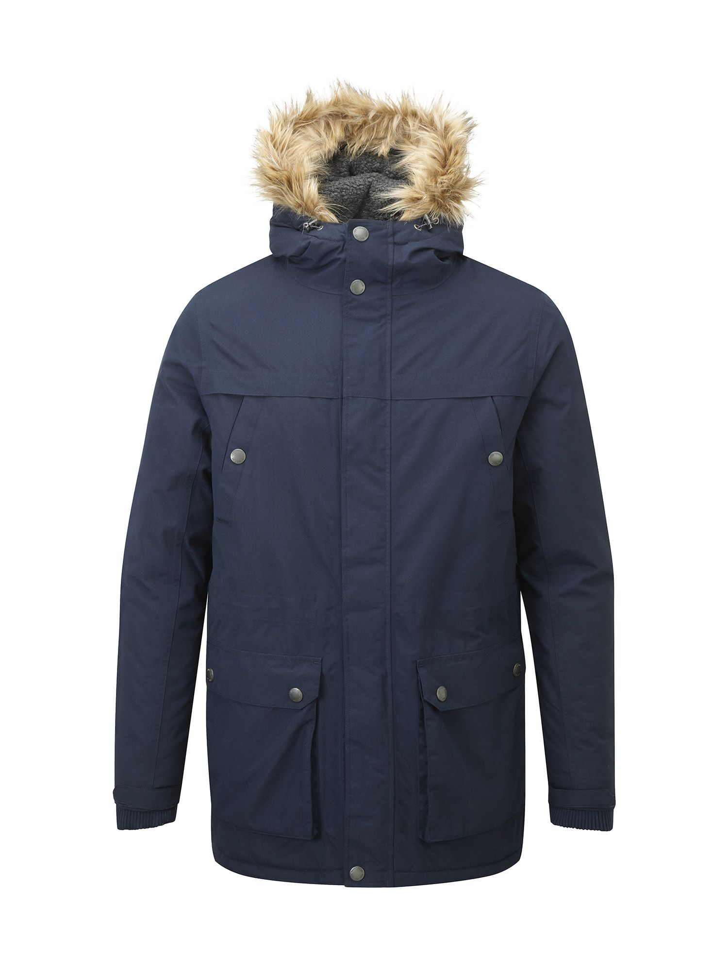 Mens Tog 24 Farley Mens Milatex Parka Jacket Navy