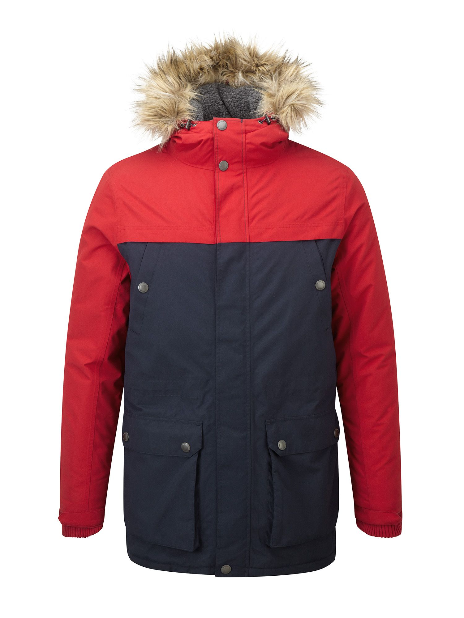 Mens Tog 24 Farley Mens Milatex Parka Jacket Red