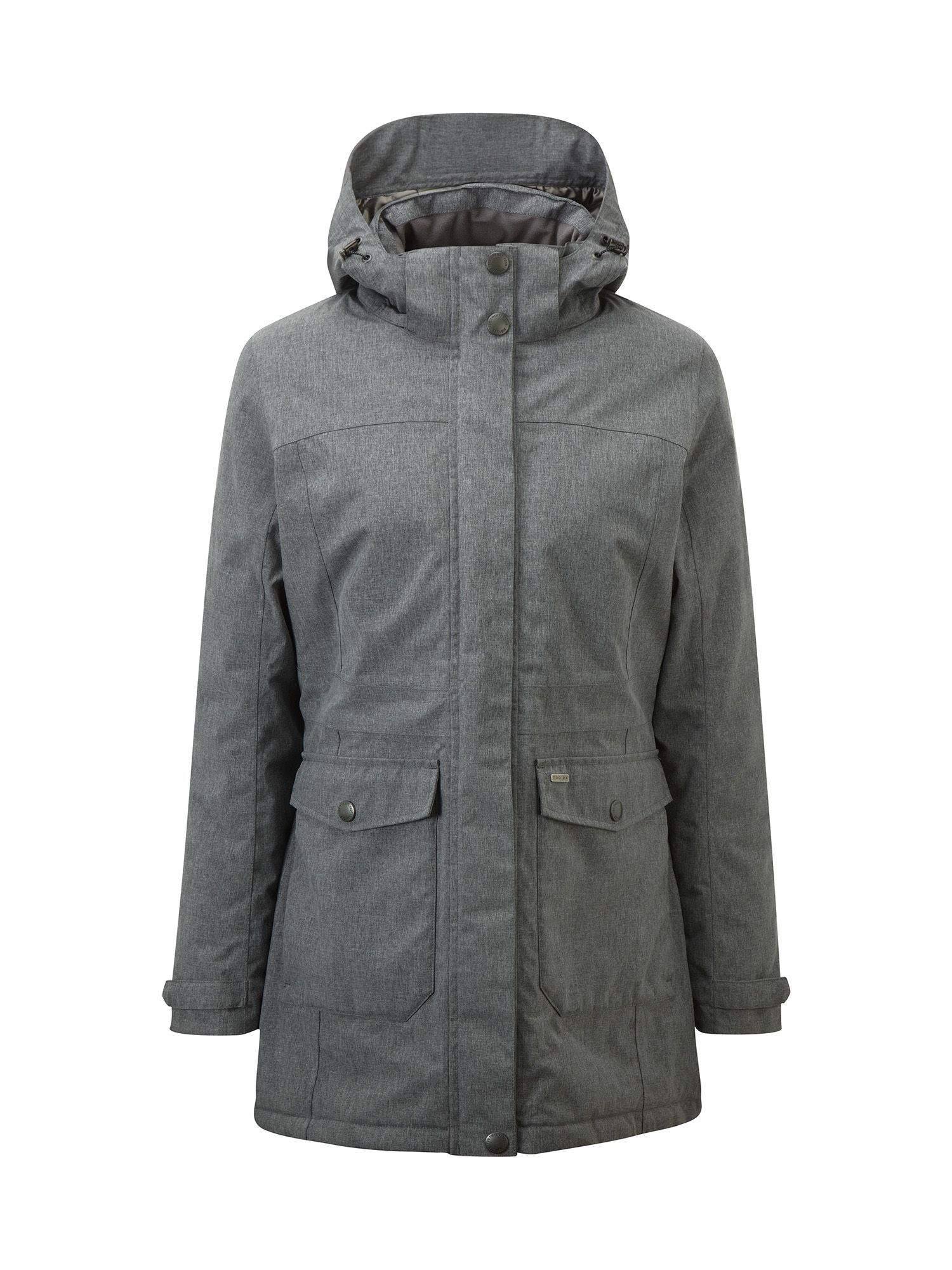 Tog 24 Bexley Womens Milatex Parka Jacket, Grey