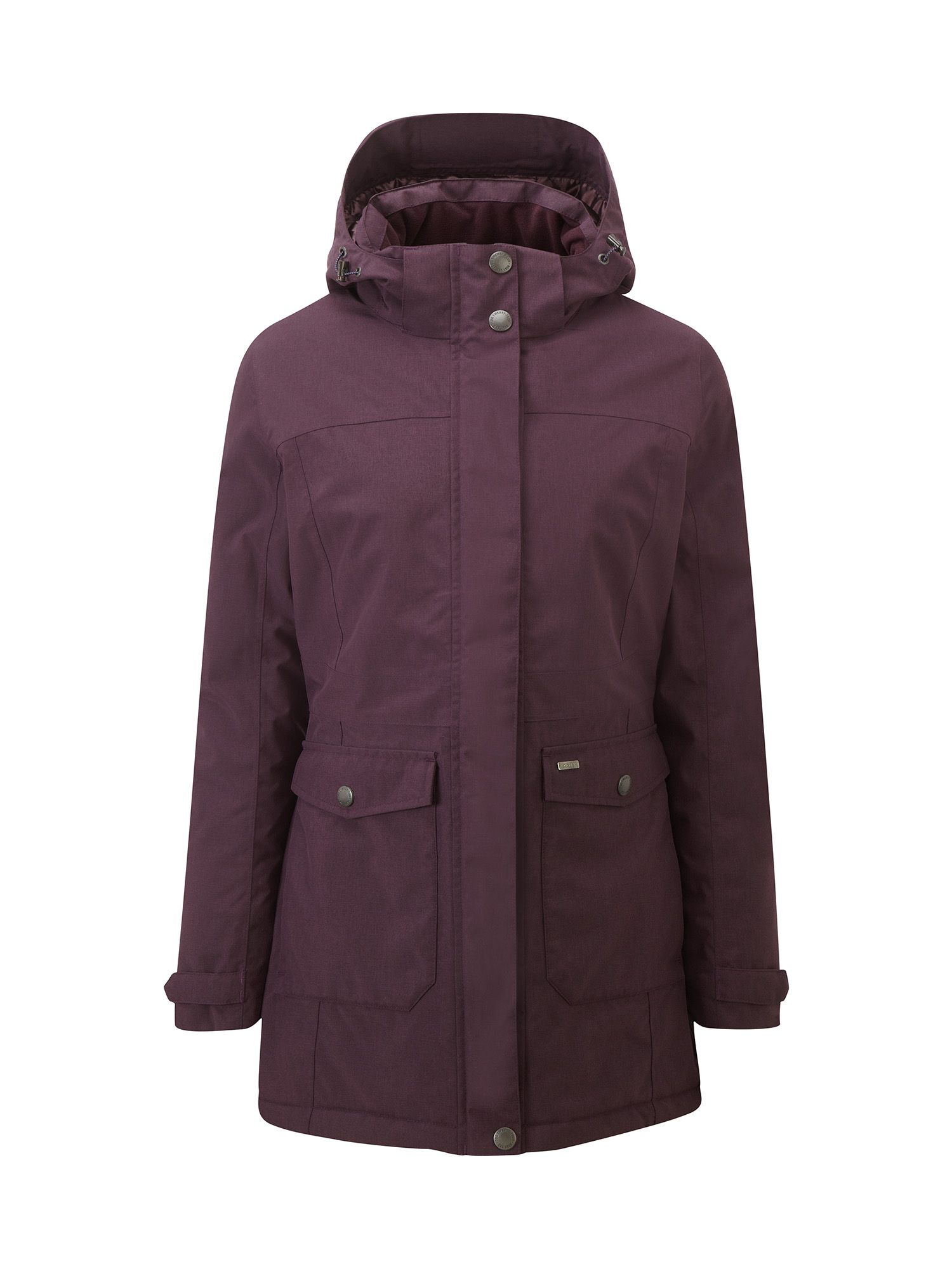 Tog 24 Bexley Womens Milatex Parka Jacket, Purple