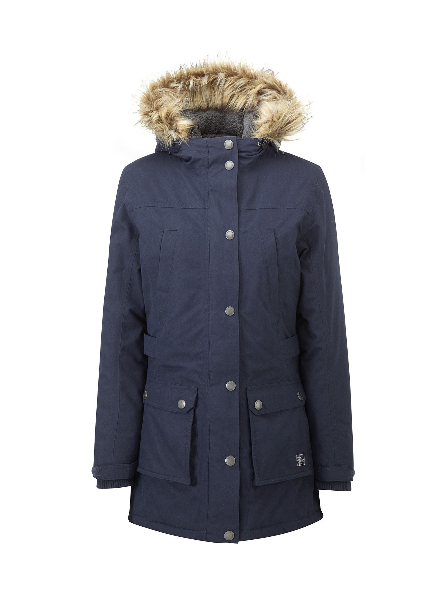 Tog 24 Farley Womens Milatex Parka Jacket, Blue