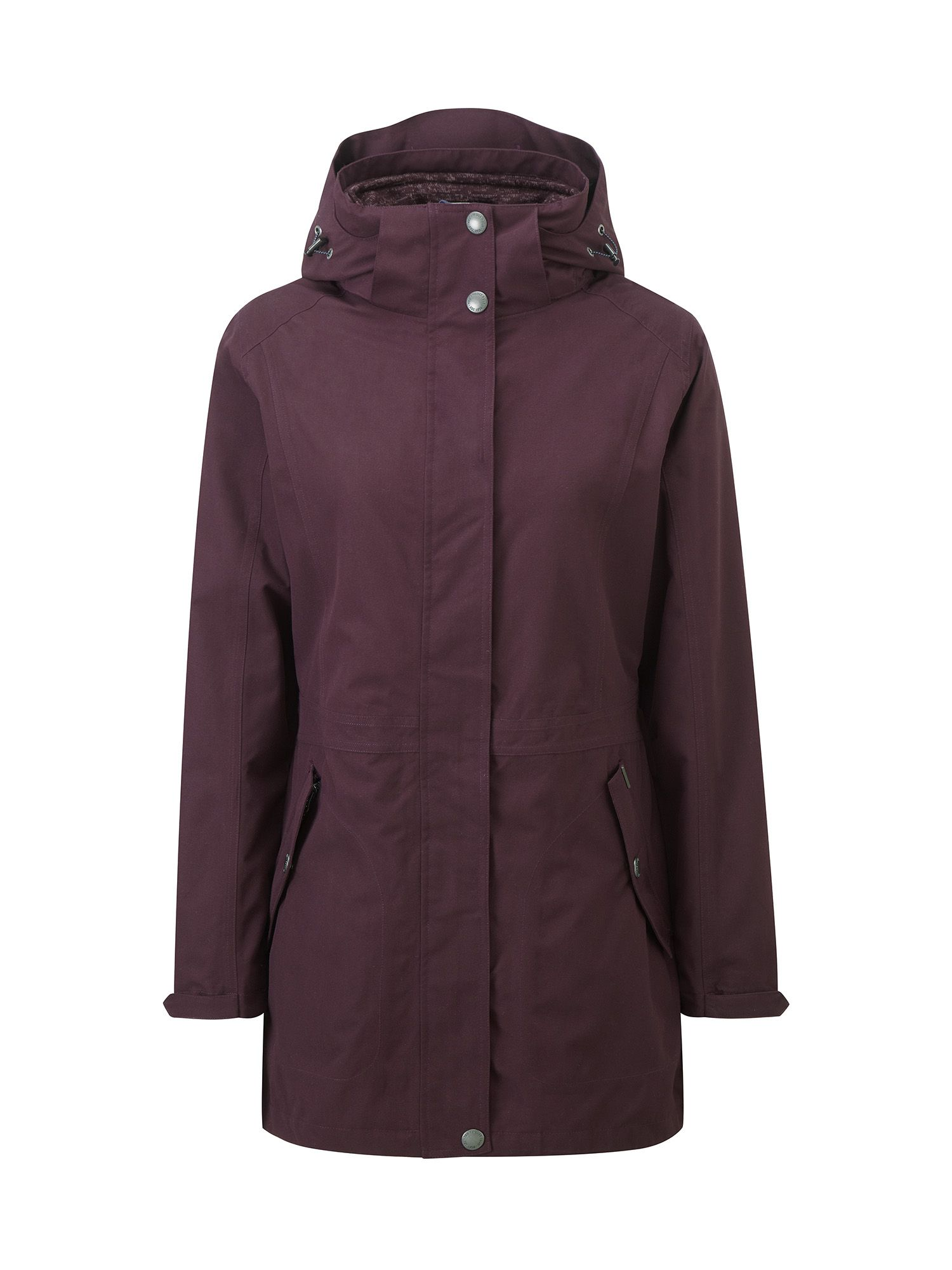 Tog 24 Sutton Womens Milatex 3in1 Winter Jacket, Purple