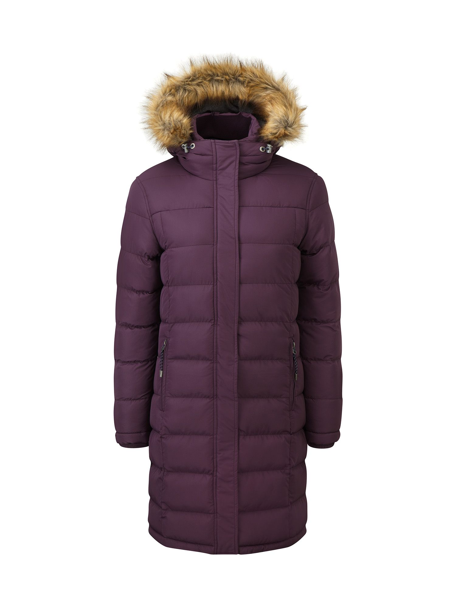 Tog 24 Freeze Womens TCZ Thermal Winter Jacket, Purple