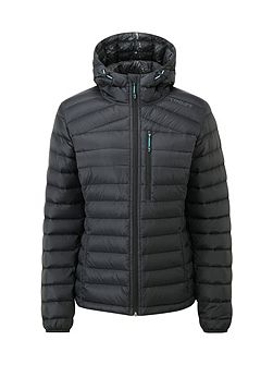 Zenon Womens Down Hooded Jacket