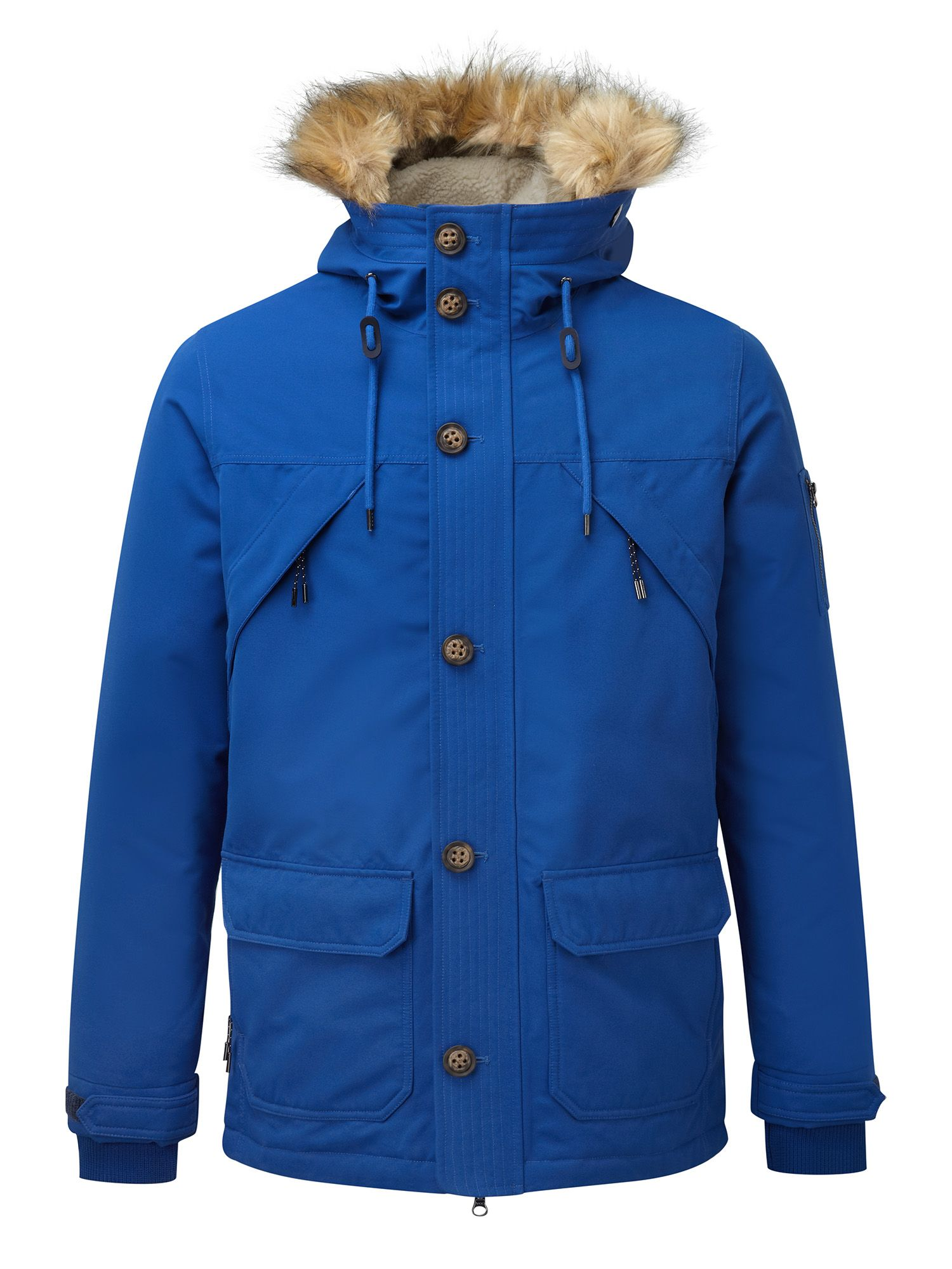 Mens Tog 24 Fairmount Milatex Down Parka Jacket Royal