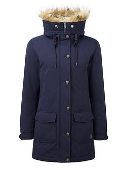 Kelso Womens Milatex/Down Parka Jacket