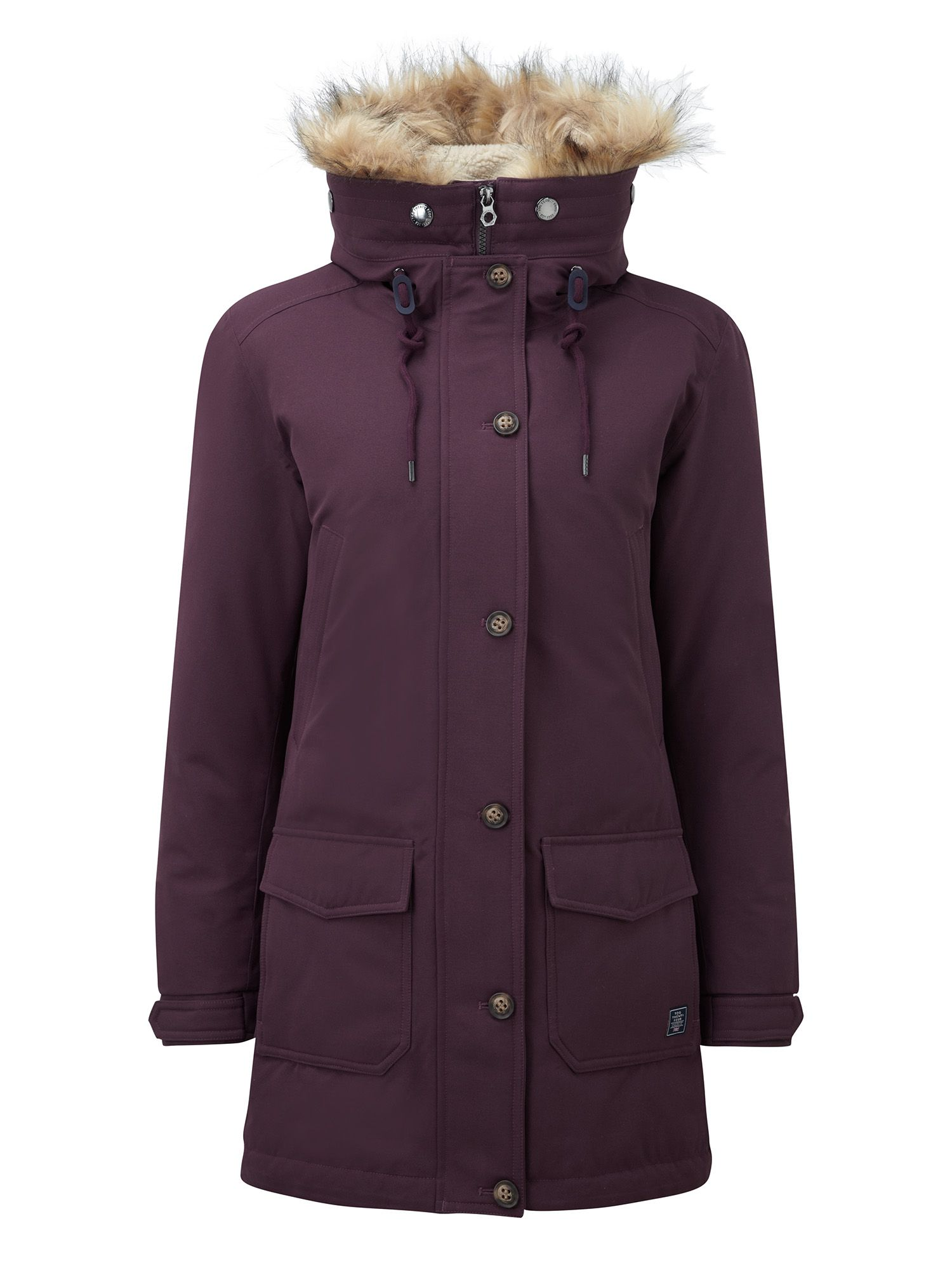Tog 24 Kelso Womens Milatex/Down Parka Jacket, Purple