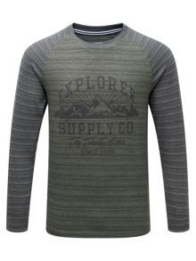 Tog 24 Fraser Mens Deluxe Long Sleeve T-Shirt Supply