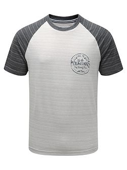 Leyton Mens Deluxe T-Shirt Mountain