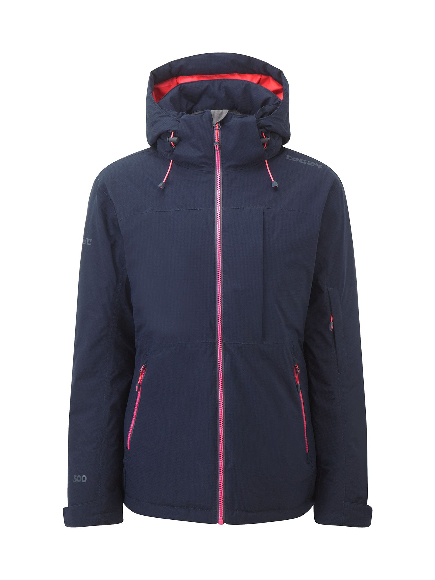 Tog 24 Eden Womens Milatex Ski Jacket, Blue