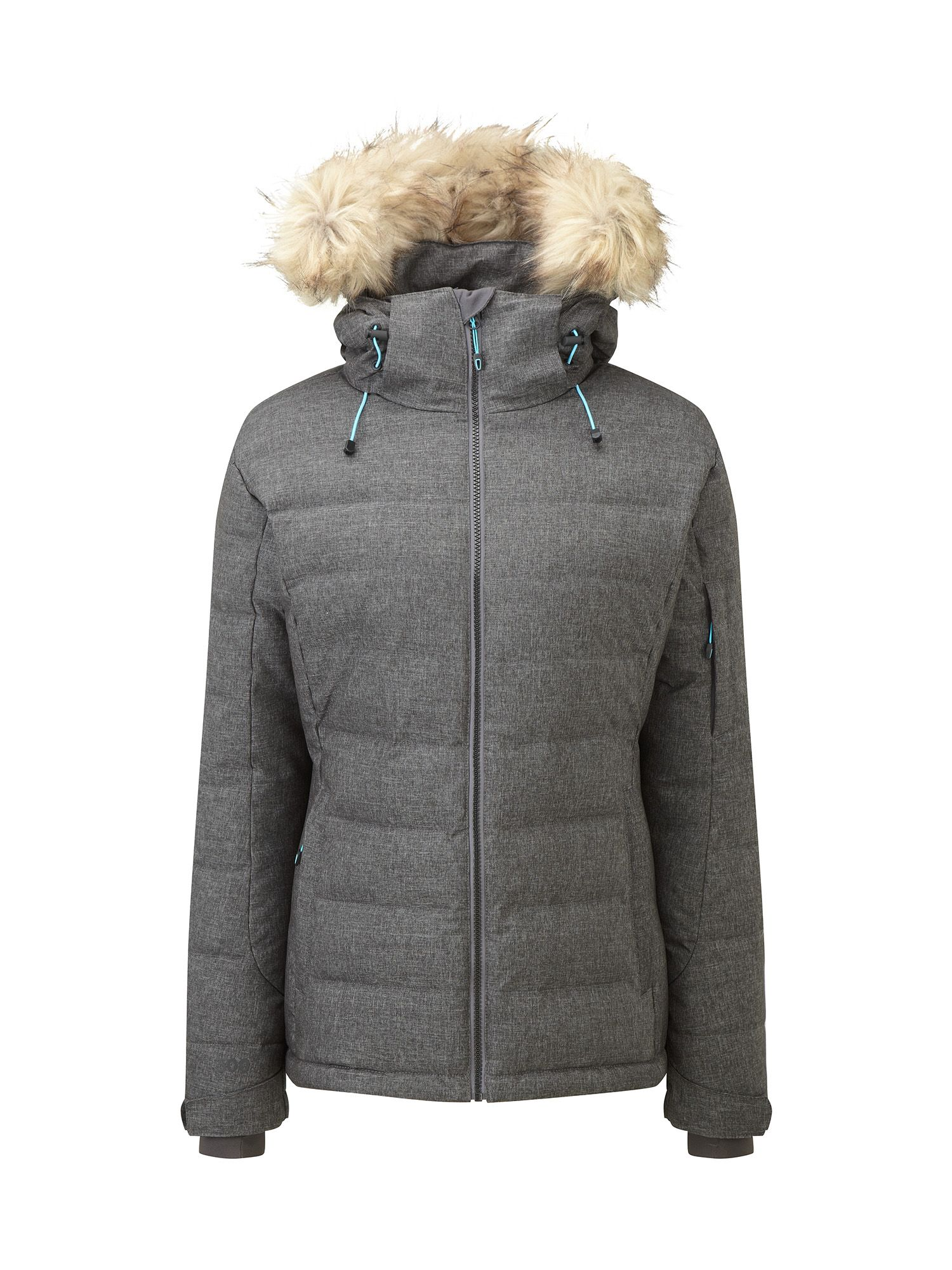 Tog 24 Sublime Womens Milatex/Down Winter Jacket, Grey