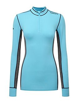 Ergo Womens TCZ Diamond Dry Zip Neck