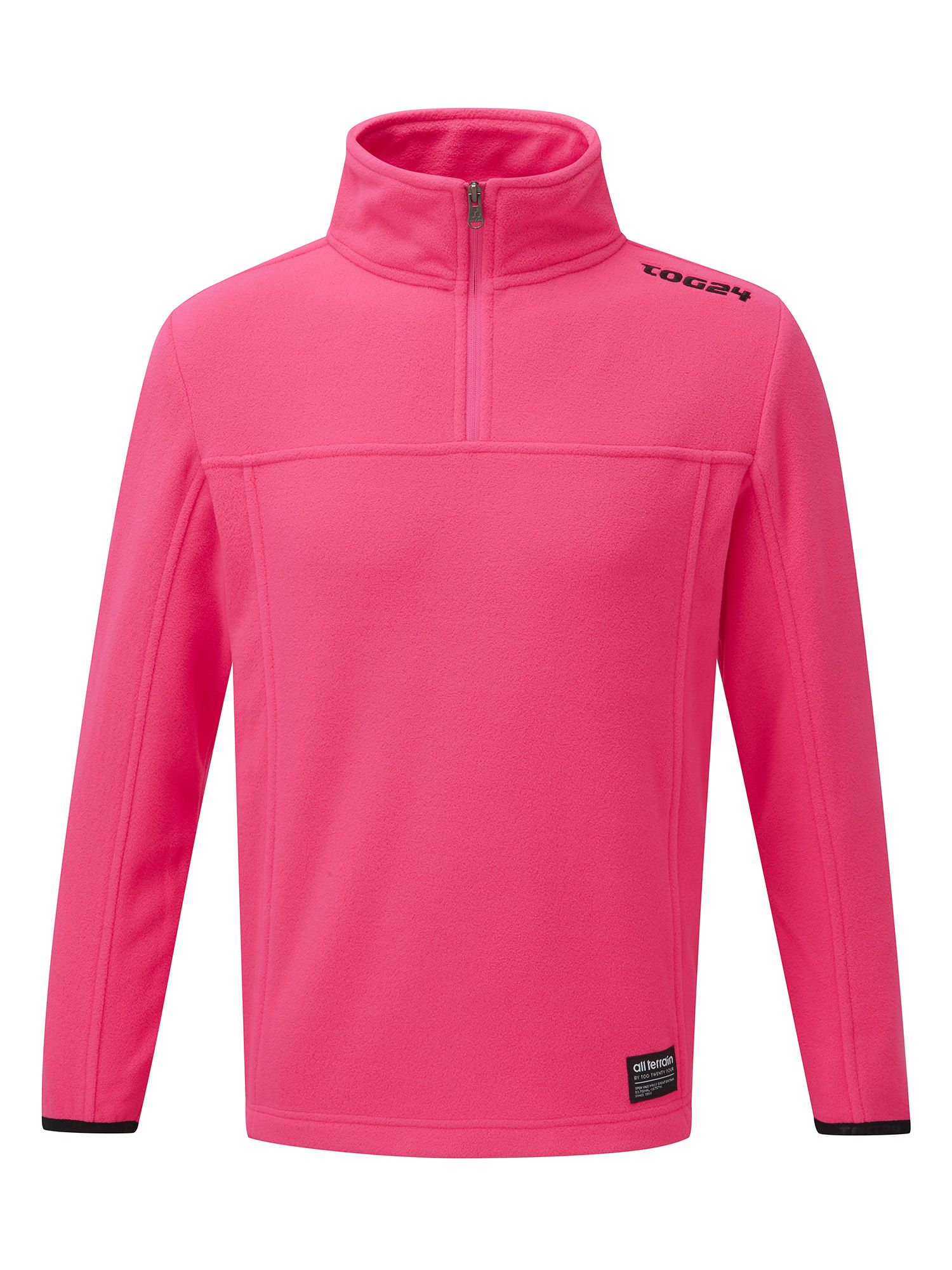 Photo of Tog 24 halo kids tcz 100 fleece zip neck- pink
