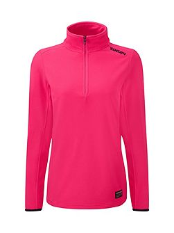 Halo Womens TCZ 100 Fleece Zip Neck
