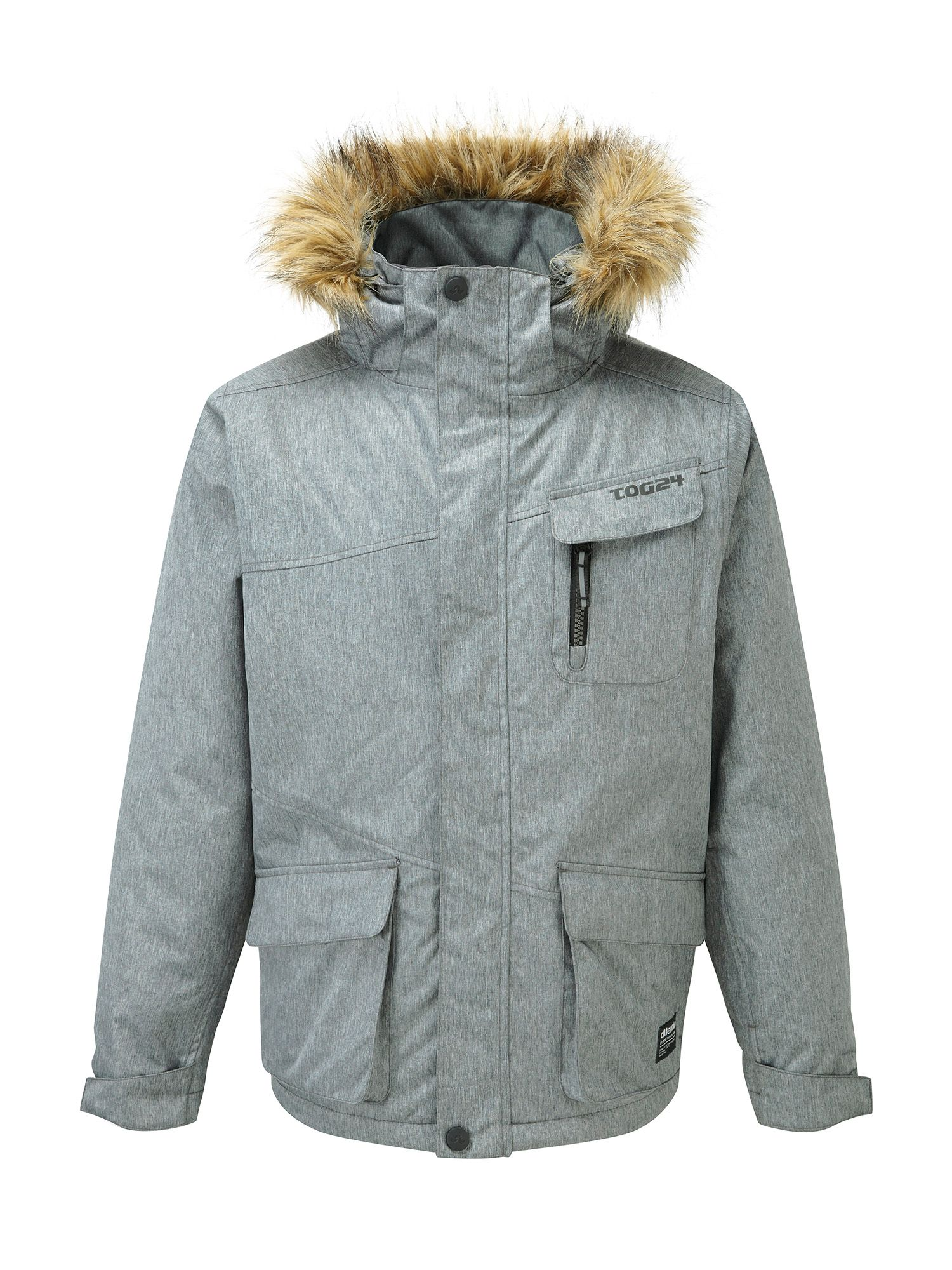 Photo of Tog 24 journey kids milatex parka jacket- grey marl