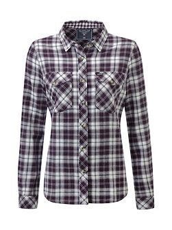 Belle Womens Double Weave Winter Shirt