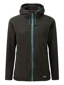 Aura Womens TCZ 300 Fleece Hooded Jacket
