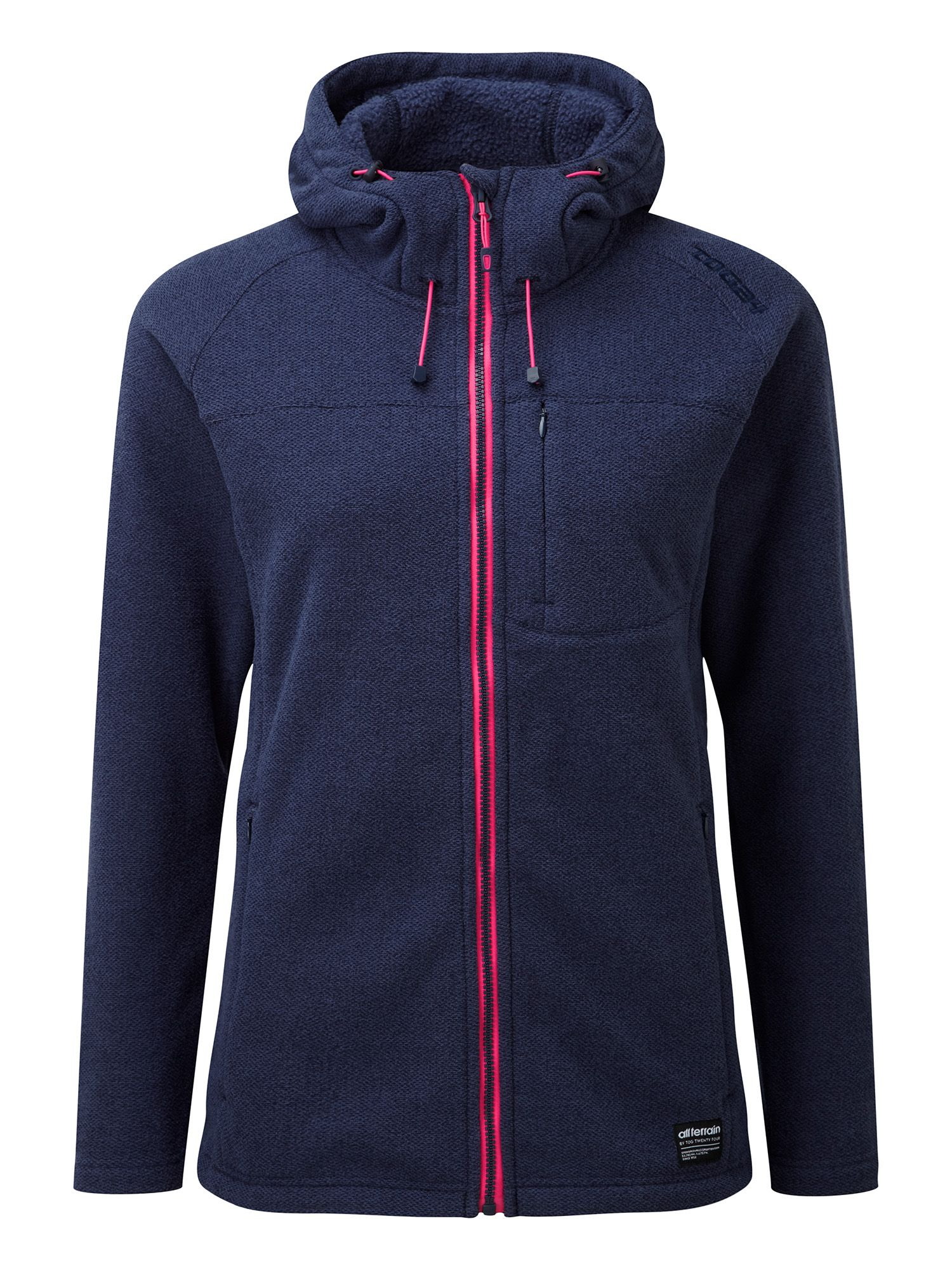 Tog 24 Aura Womens Tcz 300 Fleece Hooded Jacket, Navy