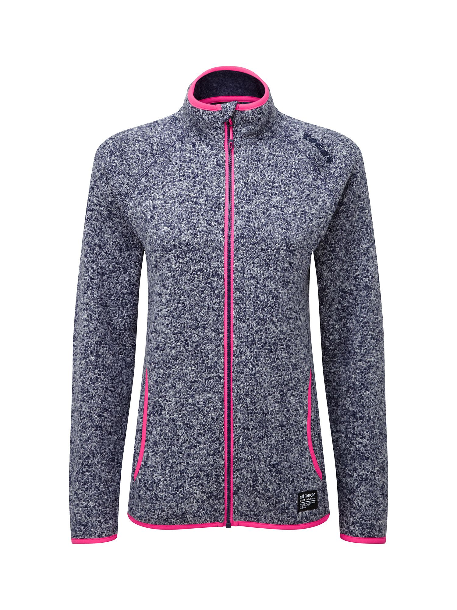 Tog 24 Serena Womens TCZ 200 Fleece Jacket, Blue