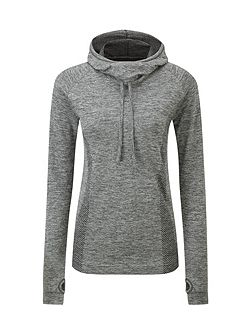 Vivace Womens TCZ Stretch Seamless Hoodie