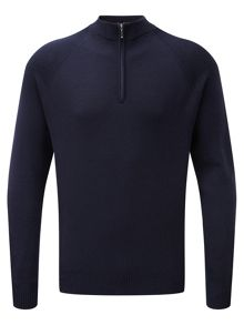 Tog 24 Calder mens merino zip neck