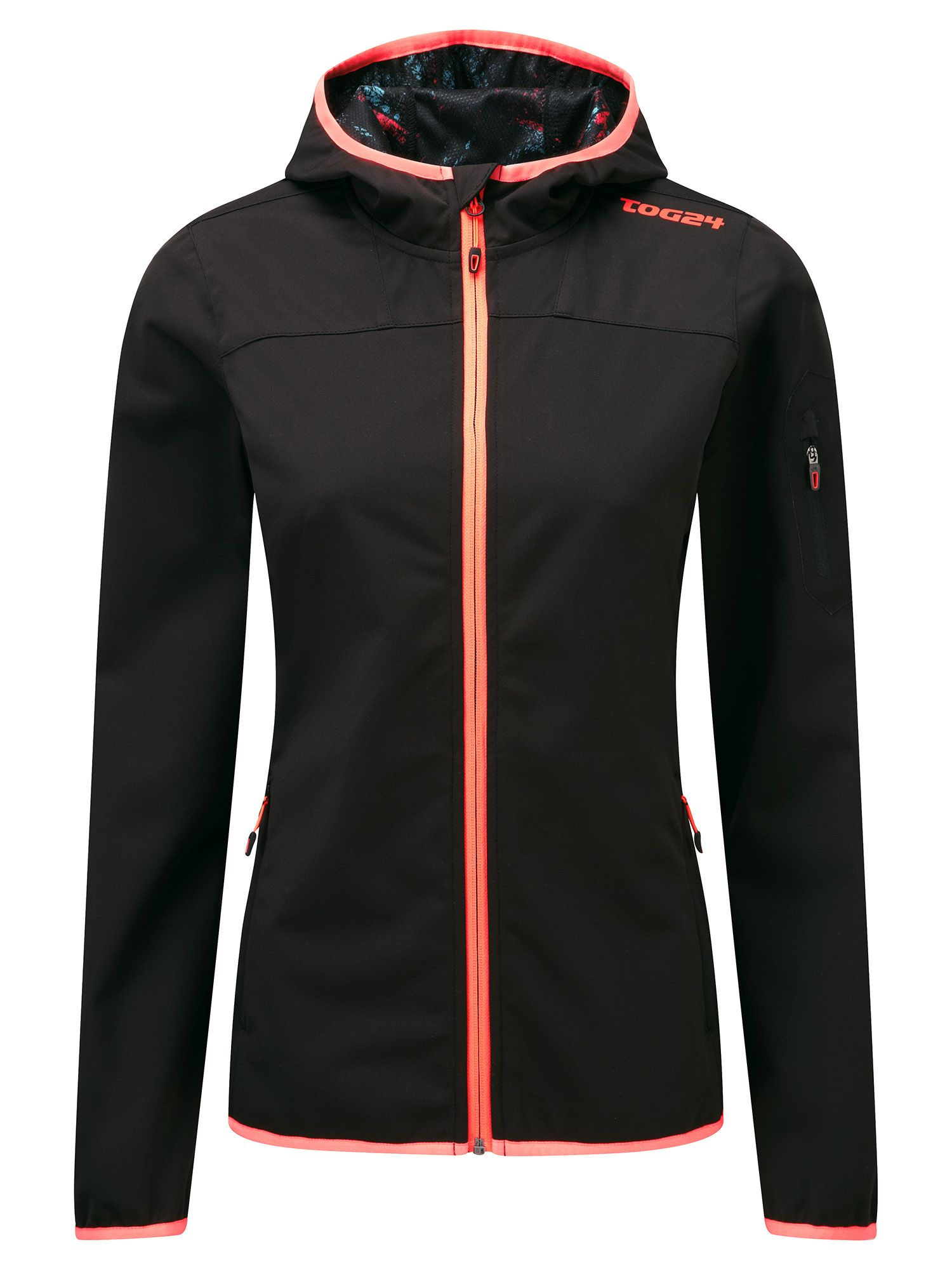 Tog 24 Vanquish Womens Tcz Shell Jacket, Black