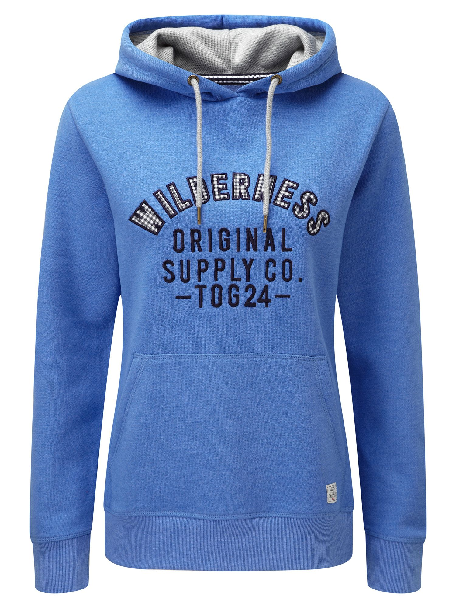 Tog 24 Amy Womens Deluxe Hoodie Wilderness Print, Blue