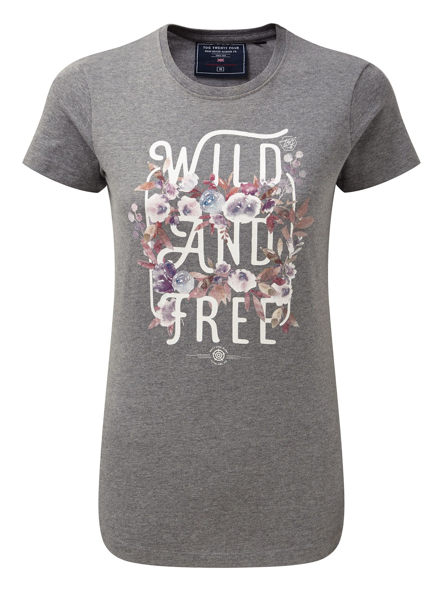 Tog 24 Olivia lds t wild and free, Dark Grey Marl
