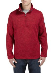 Uno TCZ200 zip neck jumper