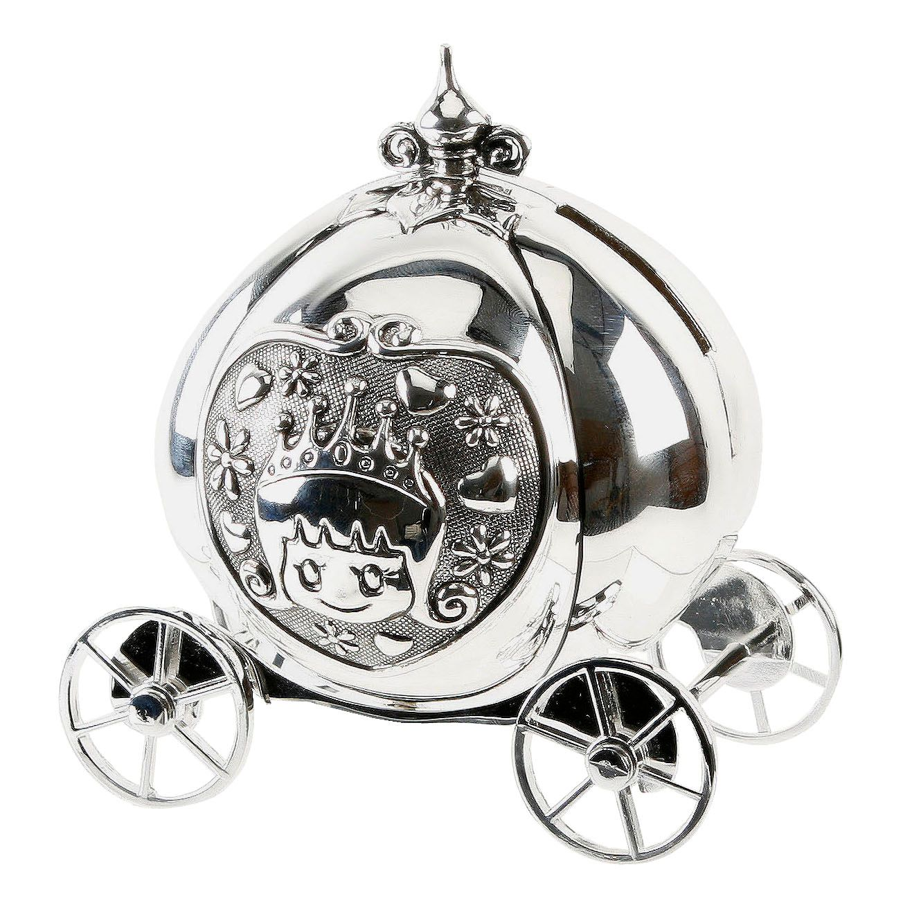 Bambino Bambino S/plated money box - cinderella