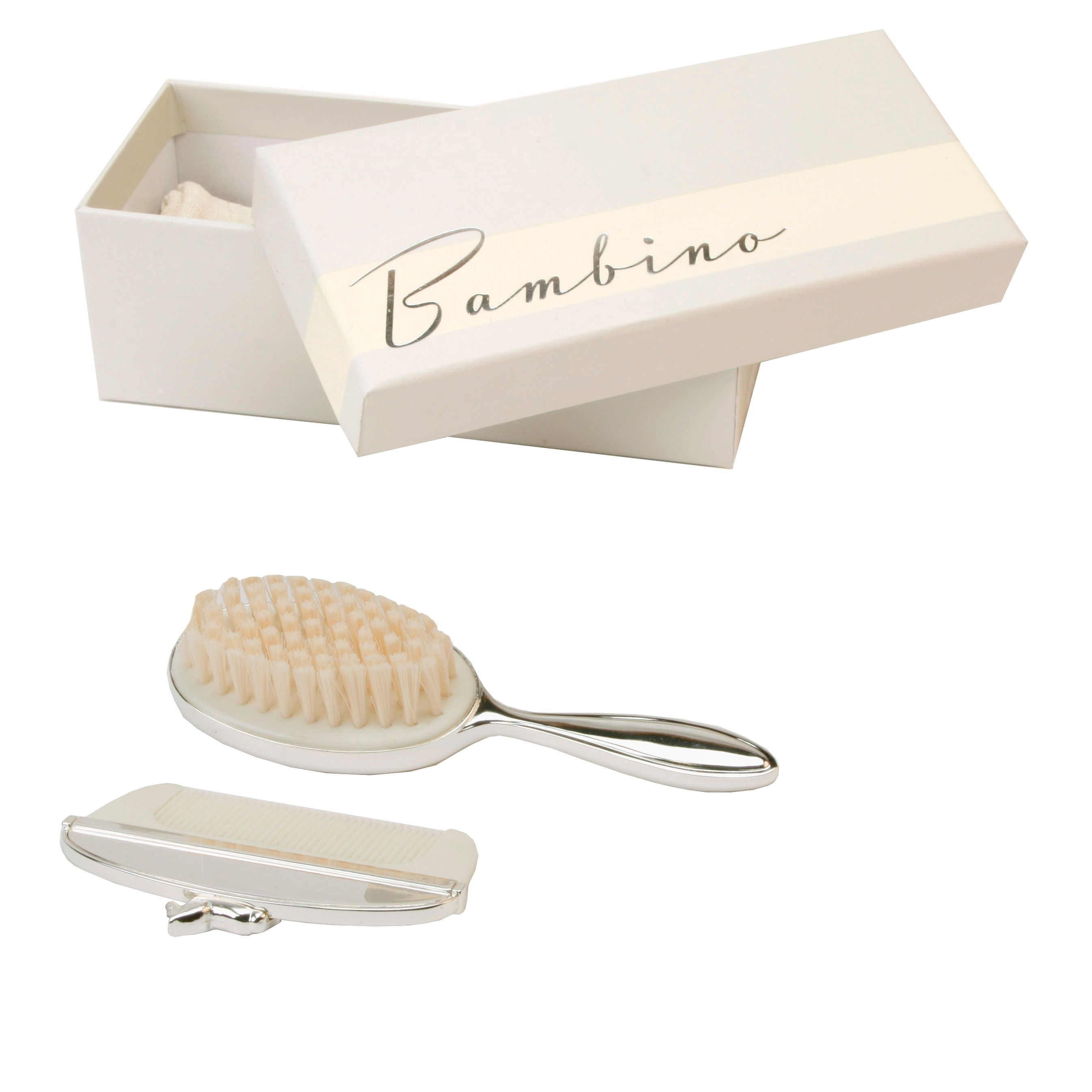 Bambino Brush & comb  rocking horse icon