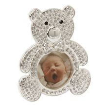 S/p teddy  frame with crystals