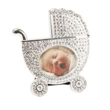 Bambino S/p pram shape photo frame