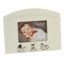 Bambino Cream mdf photo frame + icons