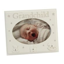 Bambino Resin photo frame 5x3 grandchild