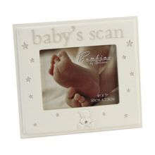 Bambino Resin photo frame 4x3 babys scan